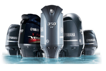 Yamaha marine engines on Elba Island